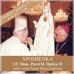 Biskup Hnilica 2017