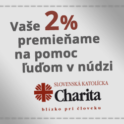 Charita 2% 2015