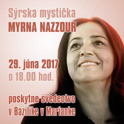 Myrna Nazzour 2017